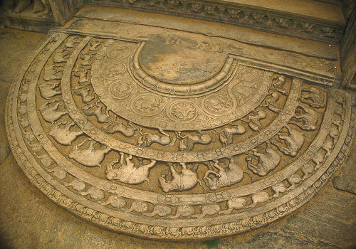 Polonnaruwa Vatadage Circular House Of Relic Dalada