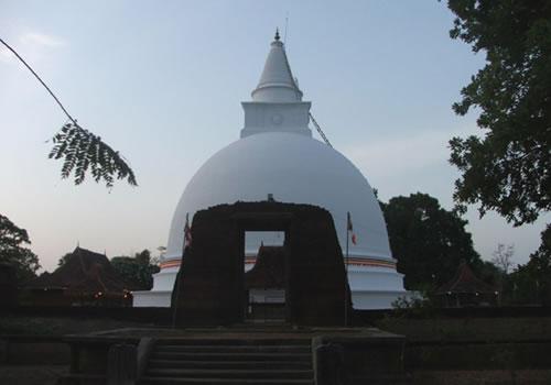 Somawathiya Chethiya Somawathi Stupa Sri Lanka