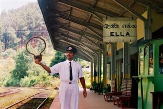 Ella Railway Station, Central Highlands, Sri Lanka