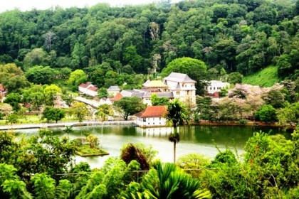 Kandy, Capital of the Central Province, encompassing Kandy, Matale & Nuwara Eliya