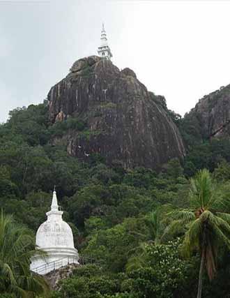 Dimbulagala Buddhist Monastery, Sri Lanka
