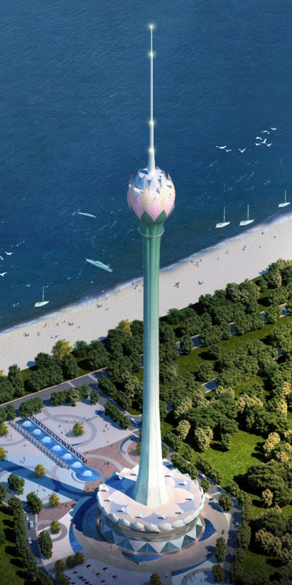 Lotus Tower Sri Lanka