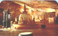 Golden Dambulla Rock Temple